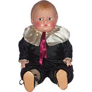 "SOLD Very Charming 14"" Effanbee Composition Baby Grumpy Doll"