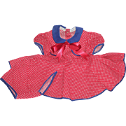 """SOLD Vintage Factory Made Dress & Matching Undies for 19"""" Compo or HP Dolls"""