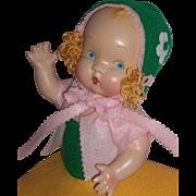 "SALE Beautiful HTF c1937 Harriet Flanders - Little 12"" Cherub Composition Doll"