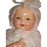 """Very RARE - Baby Brite - 19"""" Composition Mama Doll by Madame Hendren"""