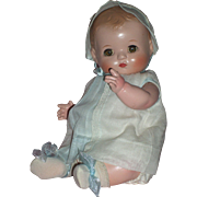 "SOLD Very Precious - 10"" Effanbee Patsy Baby c1930's All Composition"