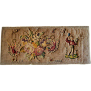 Enchanting bead work and petit point dated 1888