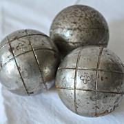 SOLD Vintage French Pétanque Balls