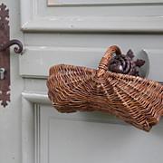 SOLD Vintage Cherry Basket From France