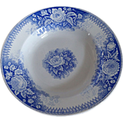 SOLD Old French Faience U & C Sarreguemines Serving Bowl