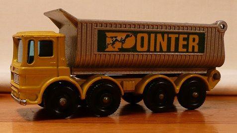 Matchbox #51c - AEC 8-Wheel Tipper 'Pointer' - ca. 1969-70