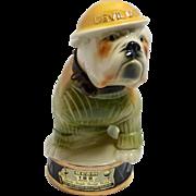 Vintage Jim Beam Marine Corp Devil Dog Decanter