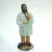 Czechoslovakian Art Glass Physician General Practice Figure
