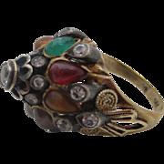 14kt Ballerina or Harem ring