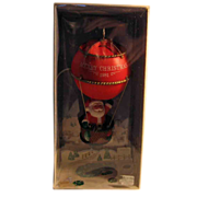SALE 50% OFF 1981 Hallmark 'Sailing Santa' Hot Air Balloon Christmas Ornament Boxed