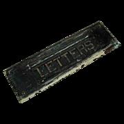Solid Brass Mail/Letter Door Slot