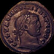 SALE 50% OFF Maximinus II Daia Ancient Roman Imperial Coin Genius 305-313 AD
