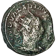 SALE 50% OFF Valerian I Roman Imperial Coin With His Son Gallienus 253-259 AD