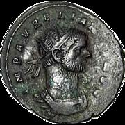 SOLD Aurelianus 270-275 AD Fortuna Roman Imperial Coin Siscia Mint