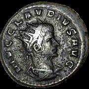 SALE 50% OFF Claudius II Gothicus Ivno Regina ERROR 'Regana' Roman Imperial Coin