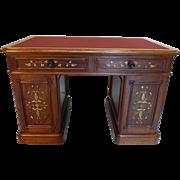 SALE Antique Desk  American Victorian c. 1870  Philadelphia