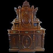 SALE Sideboard American Victorian Renaissance Revival Circa 1870