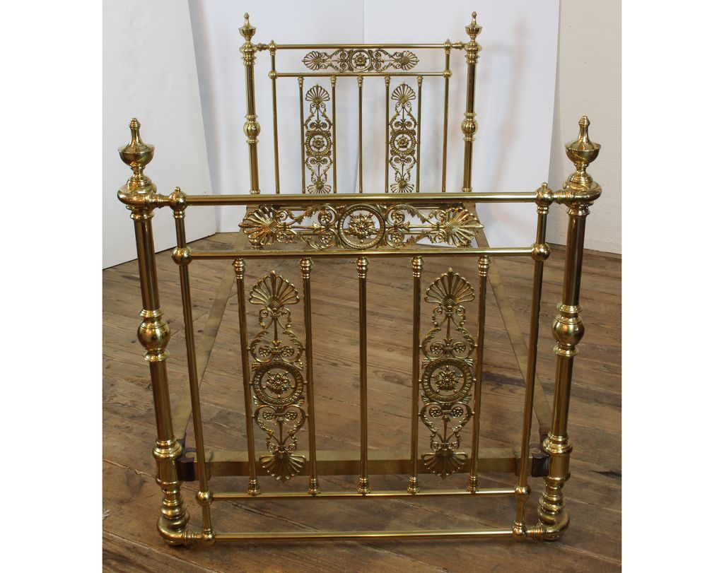 Antique Victorian Metal Bed : Antique brass bed victorian c from rubylane sold on