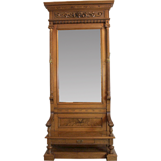 SALE Entrance Mirror American Victorian c. 1880's