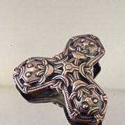 David Andersen  Norway Sterling Viking Pin Pendant