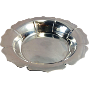 Vintage Lunt Sterling Silver Lotus Bowl Dish Early Dublin Design