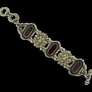 Art Nouveau Revival Lion Bracelet