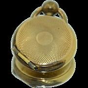 SALE PENDING 10K Yellow Gold Civil War Miniature Photo Locket
