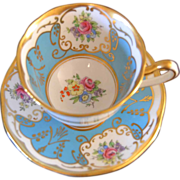 Salisbury Bone China , Twelve Teacups and Saucers