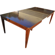 Federal Hepplewhite Dining Table by Charak over 8 ft Long