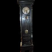 "Antique Kienzle Radium Gong Clock Over 81"" High, 1910"