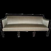 "Historical Provenance Antique Sheraton Federal Style Sofa 78"" Long"