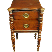 """Antique Walnut Federal Style Console or SofaTable Ca 1920 36""""W"""