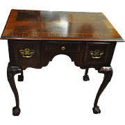 """Fine Chippendale Style Low Boy Console Table, Ball & Claw Feet 31"""" Wide"""