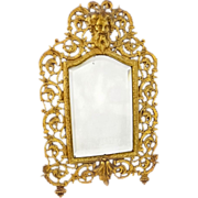 Bradley & Hubbard Bacchus Mirror with Original Bevelled Glass Neoclassic - c. 19th Century