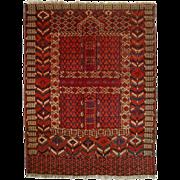 Turkoman Yomud Engsi Rug - c. 20th Century,Turkey