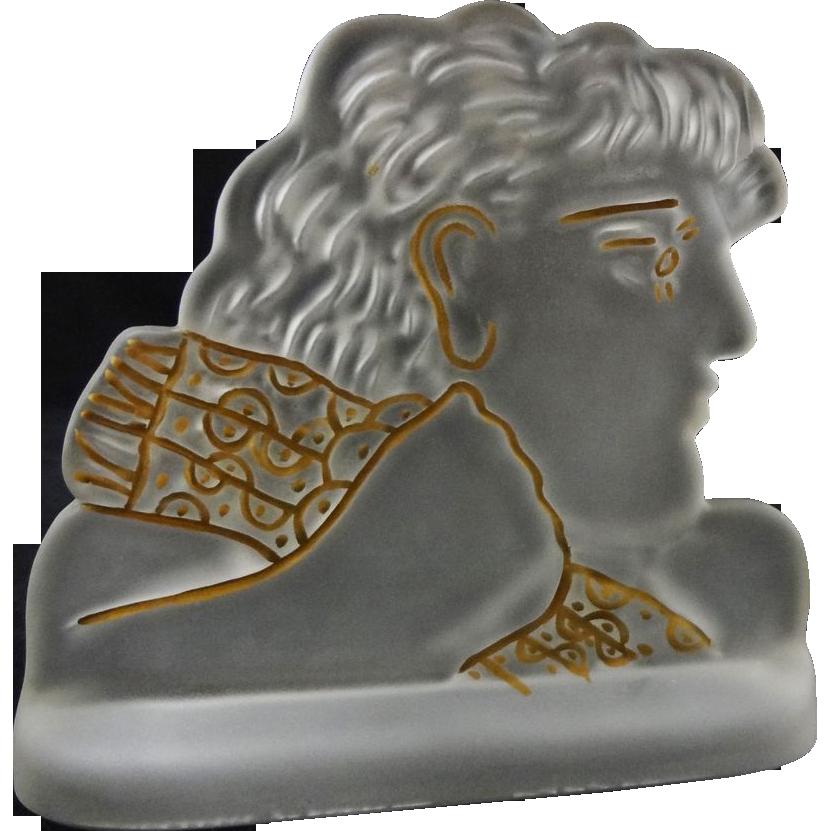 Daum Limited Edition Fassianos Kallistis Art Glass Sculpture - 20th Century, France