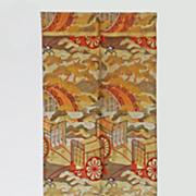 Formal Maru Obi Sash / Belt for Kimono - c. 1900's, Japan