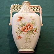 Crown Royal Floretiaware Vase/Ewer Antique