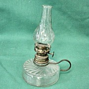 Vintage Mini Oil Finger Lamp # 4