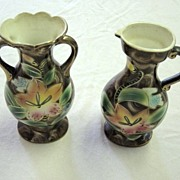 Vintage Hand Painted Vases Japan