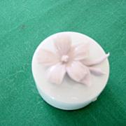 Fine Porcellane Capodimonte Ring Box