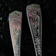 REDUCED Sterling Silver Kensington Demitasse Spoons (8)