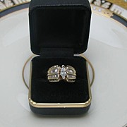 14Kt Gold Diamond Engagement Ring 2CT.T.W.
