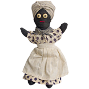 Vintage Hand Sewn Mammy Doll