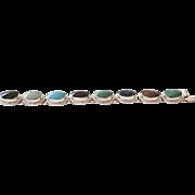 Sterling and Multi Stone Bracelet