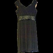 Fabulous Haute Couture Vintage Herbert Sondheim Cocktail Dress