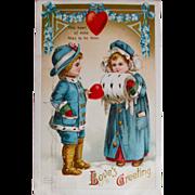 Vintage Garre Valentine Postcard,1911