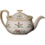 Wedgwood Charleston Design Teapot, England, Mint
