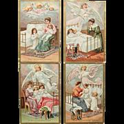 SOLD Set of 4 Nighttime Prayer Postcards