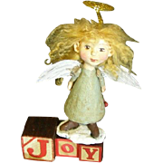 SOLD Angel ~Primitive Art doll one 0f a kind